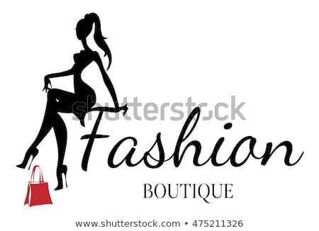 Download Free png Fashion Boutique Background Black White Woman.