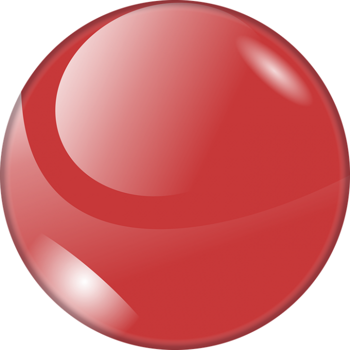 Bouton Rouge Png Vector, Clipart, PSD.