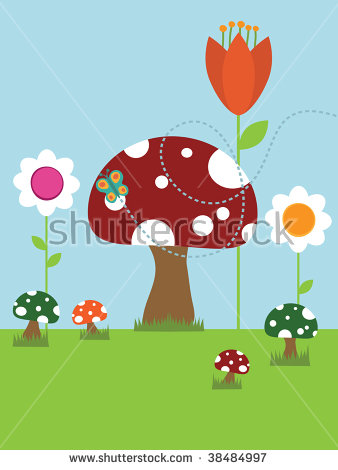 Giant Mushroom Stock Photos, Royalty.