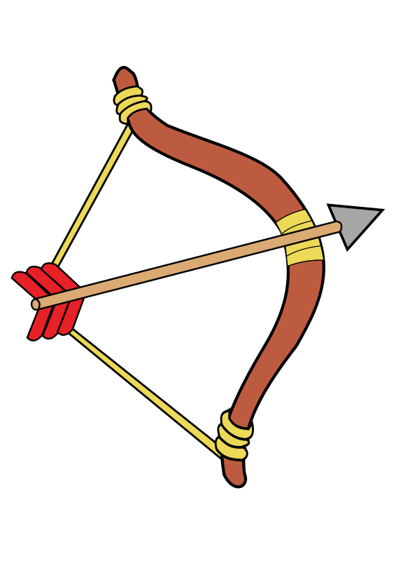 Clipart Bow And Arrow.