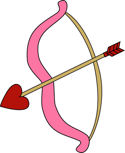 Valentine's Day Bow and Arrow.