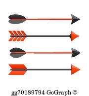 Bow Arrow Clip Art.