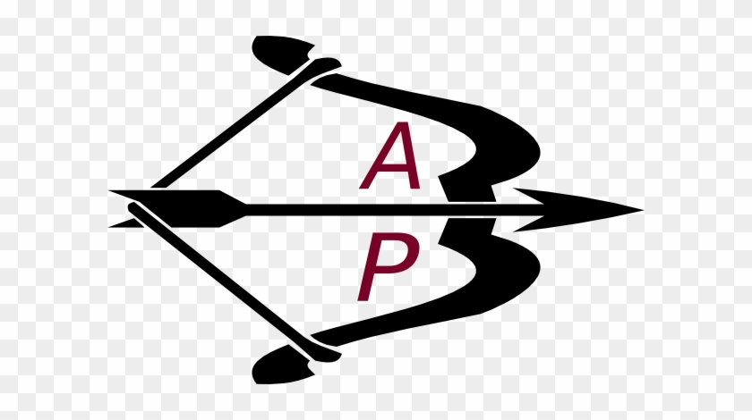 Bow Arrow Black Letters Ap Clip Art At Clker.