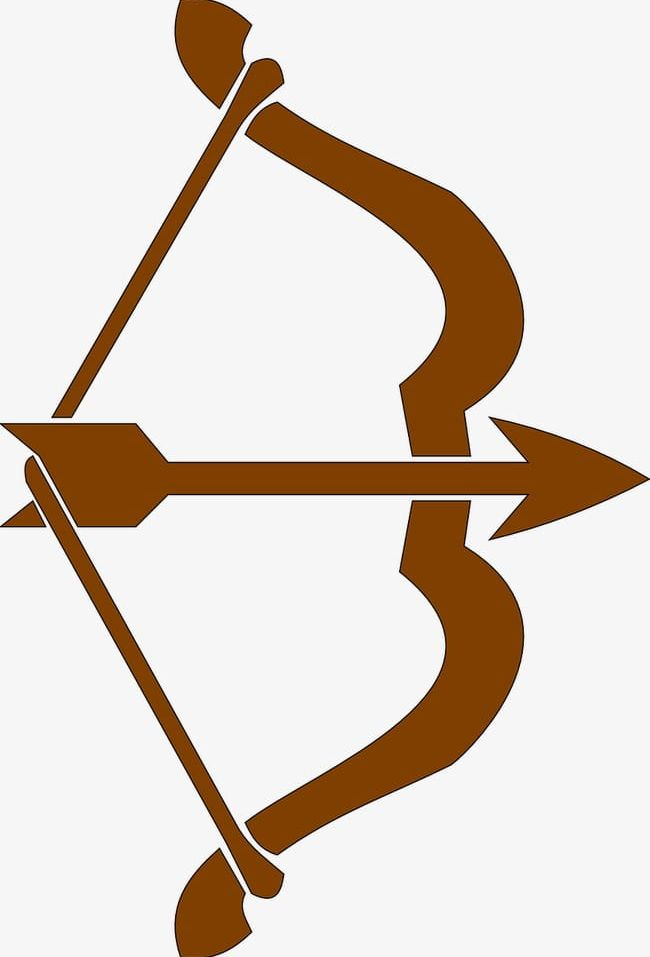 Bow Arrow PNG, Clipart, Arms, Arrow Clipart, Bow Clipart, Brown.