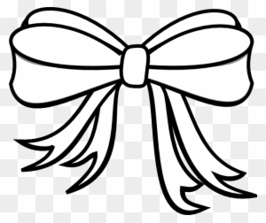 Black And White Bow Png & Free Black And White Bow.png Transparent.