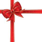 Christmas clip art ribbon.