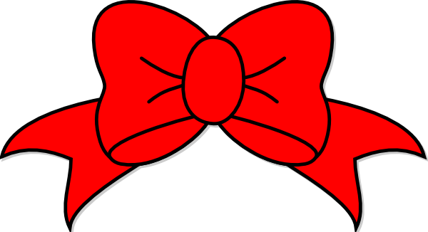 Bow clipart red, Bow red Transparent FREE for download on.