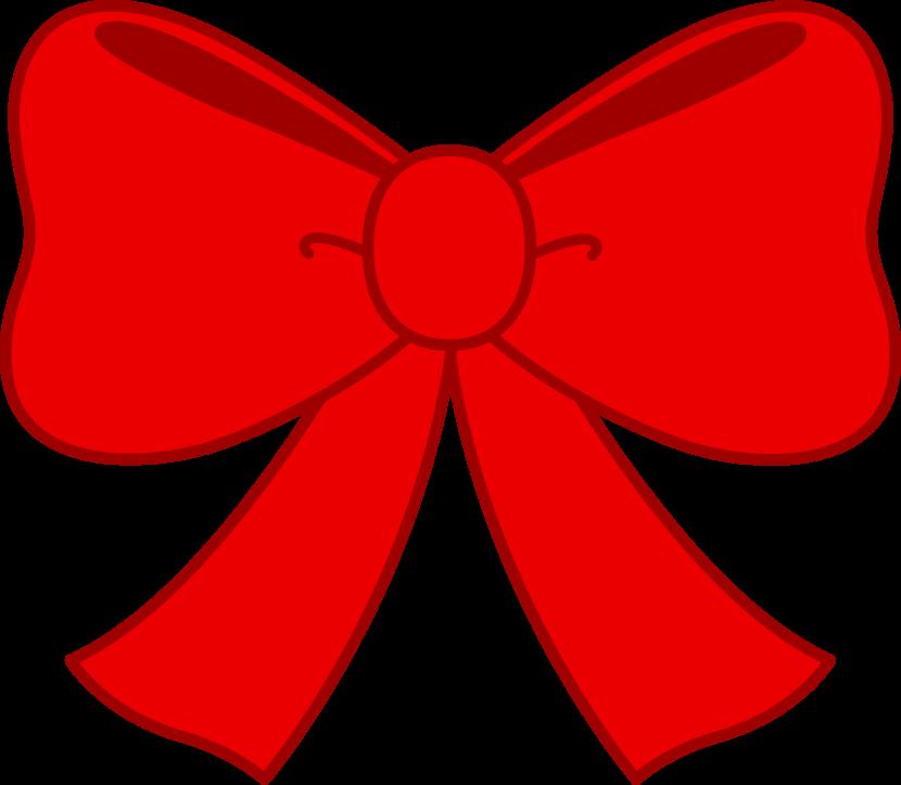 Bow clip art 4.