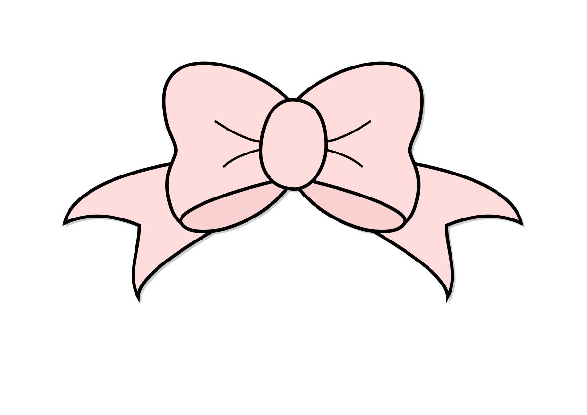 Pink Bow Clipart Clipartpng free image.