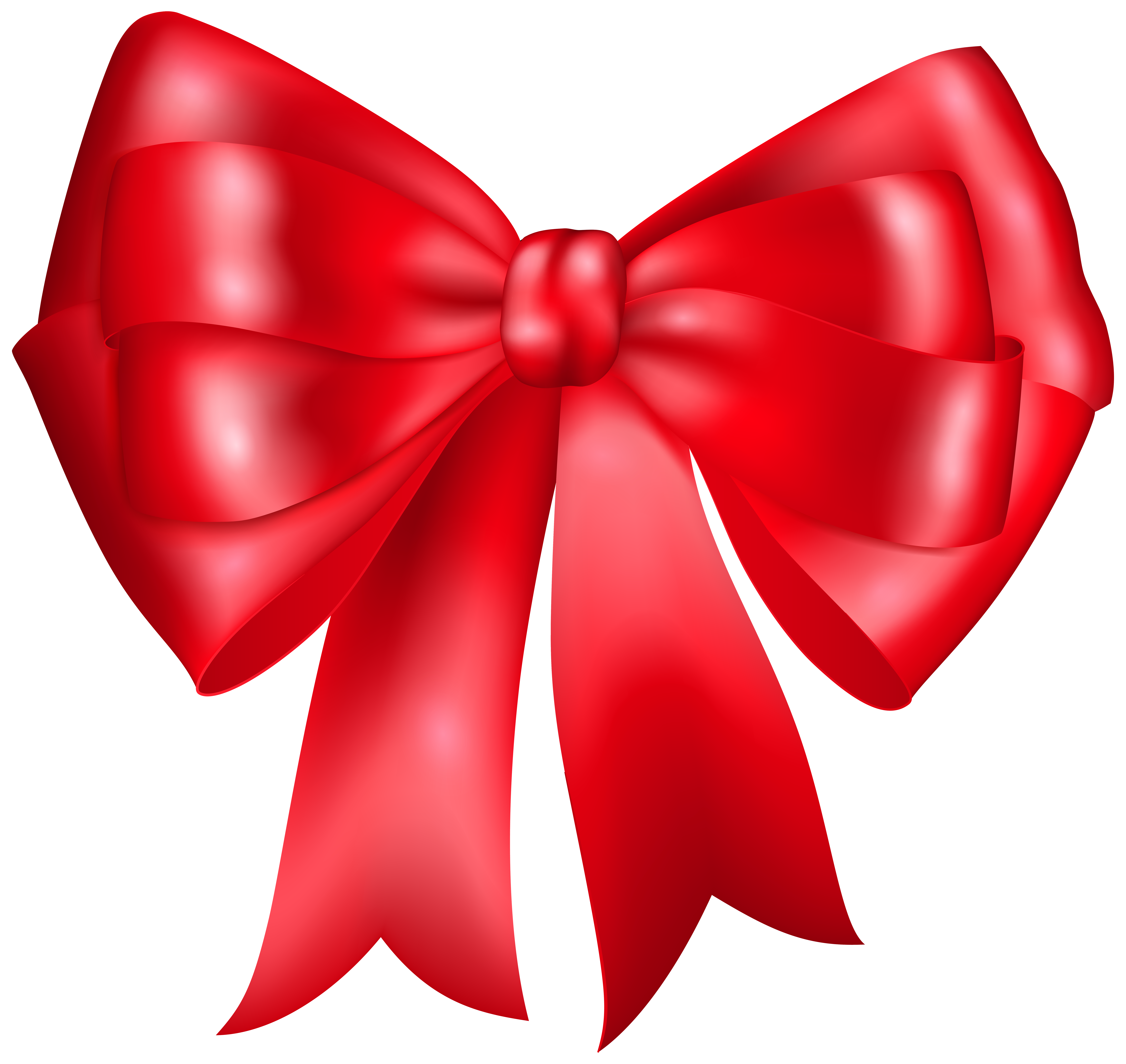 Christmas Bow Clipart Free Best On Transparent Png.