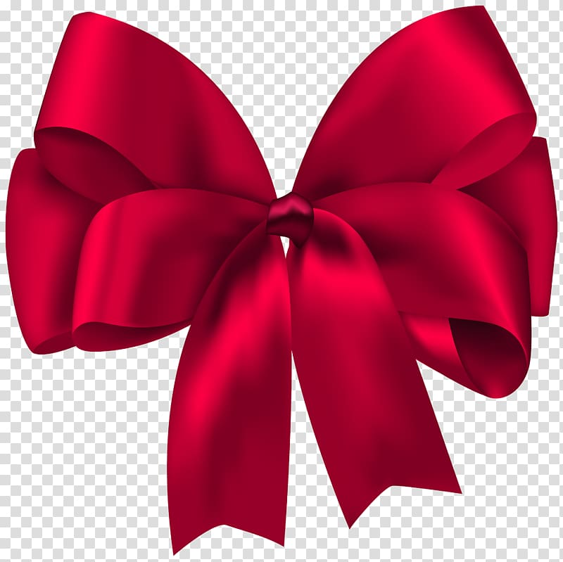 Ribbon Gift , Gift Bow Ribbon , red bow illustration.
