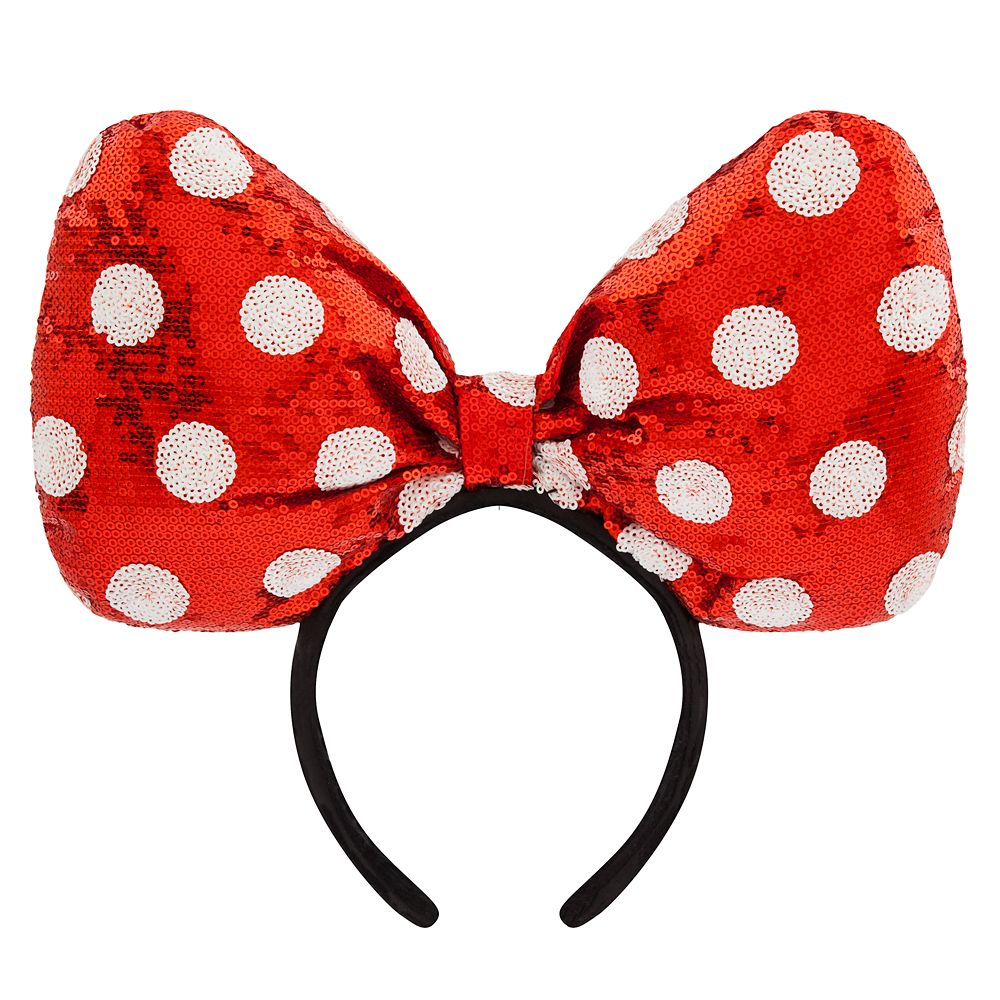 Minnie Mouse Large Bow Headband.