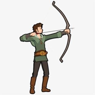 Black Arrow Hunting Clipart.