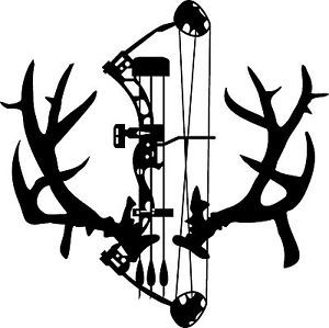 Free Bow Hunting Silhouette, Download Free Clip Art, Free Clip Art.