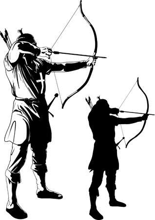 2,309 Bow Hunting Stock Illustrations, Cliparts And Royalty Free Bow.