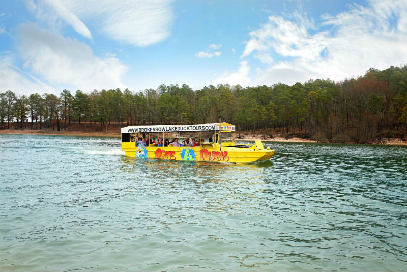 Broken Bow Lake Duck Tours.