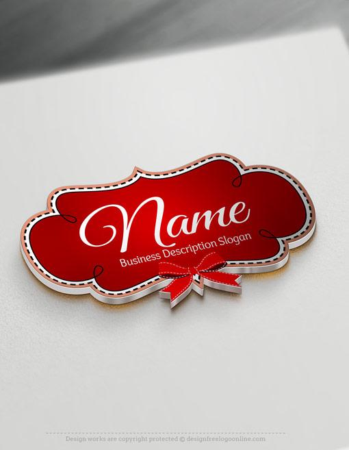 Design a logo online using Frame Bow Logo Template.
