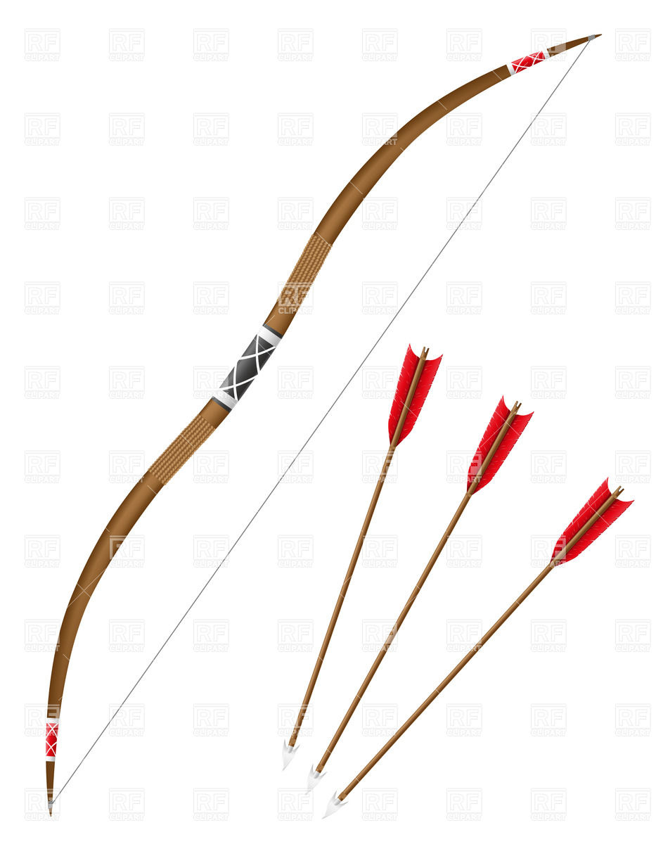 Bow and arrows Vector Image #39067.
