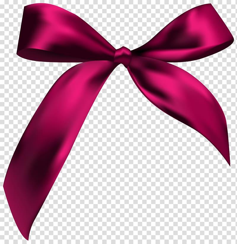 Purple bow , Ribbon Pink , Gift Bow Ribbon transparent background.