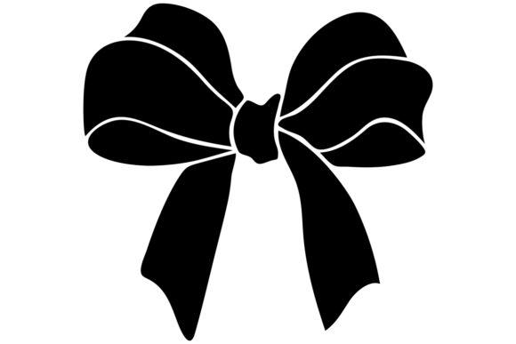 Christmas Gift / Bow Clip Art Image.