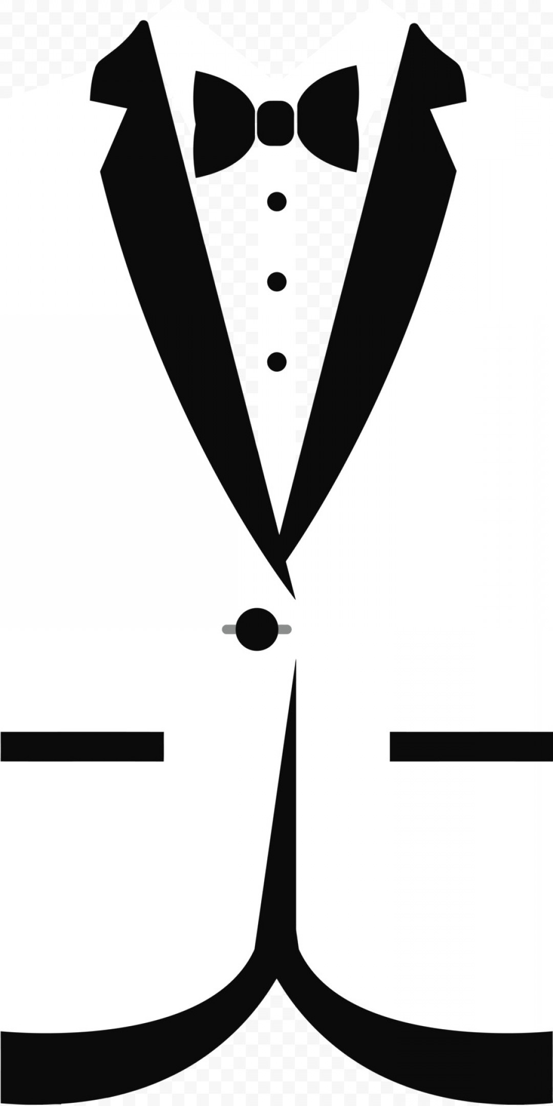 Vector Black Bow Tie Line Icon Illustration On White Extraordinary.