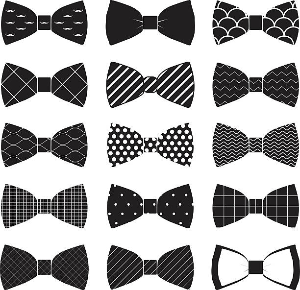 Best Bow Tie Illustrations, Royalty.