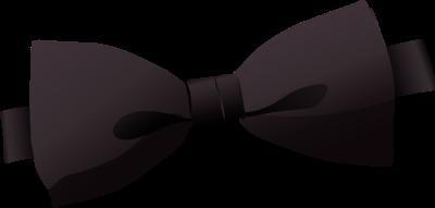 Black Bow Tie Clipart.