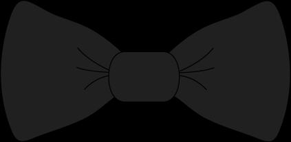 Black Bow Tie Clip Art.