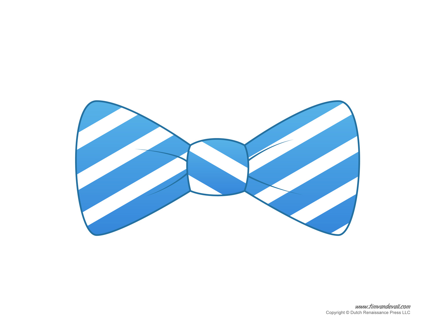 Bow Tie Printable Clipart.