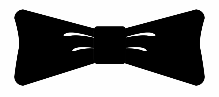 Clipart Black And White Download Image Of Hair Bow.