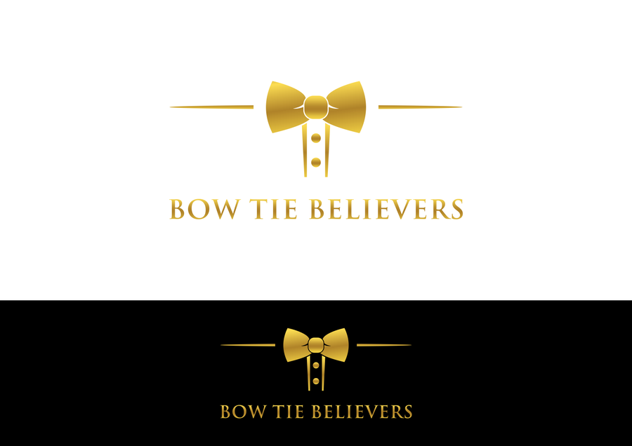 Create a Bow Tie logo used as an apparatus to achieve.