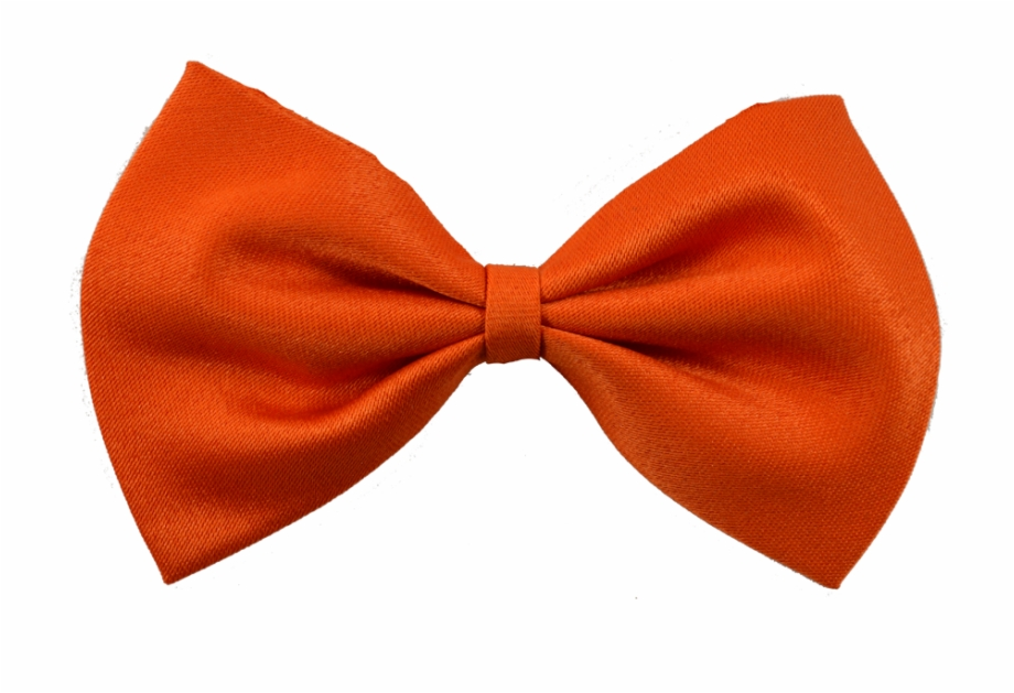 Orange Bow Png.