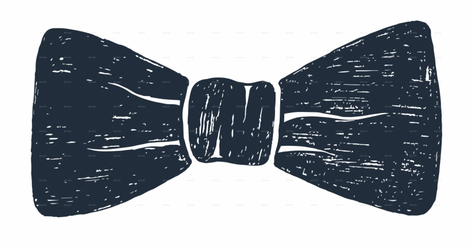 Hand Drawn Bow Tie Png, Transparent Png Download For Free #596465.