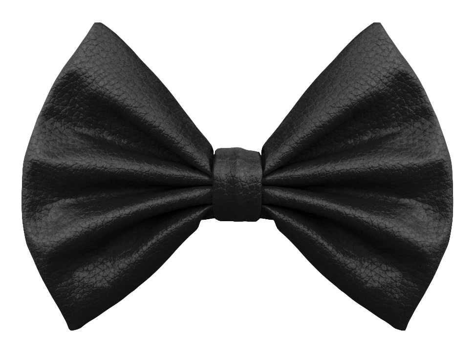 Bow Tie Black PNG Image.