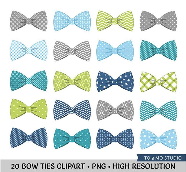 20 Bow Tie Clip art.