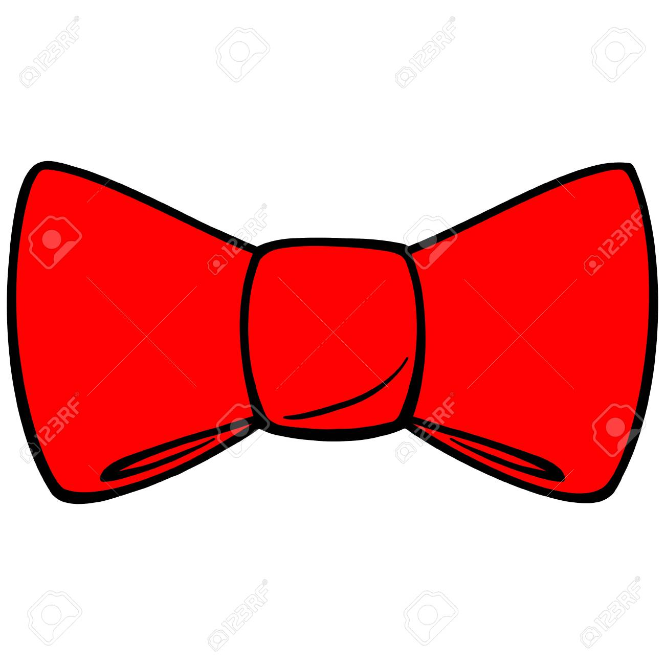 Red Bow Tie.