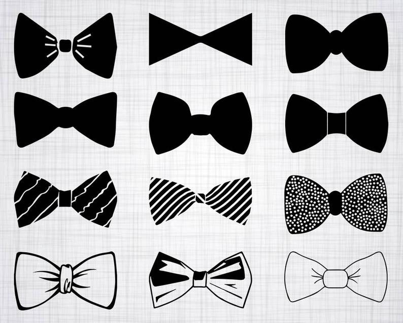 Bow Tie SVG Bundle, Bow Tie SVG, Bow Tie Clipart, Bow Tie Cut Files For  Silhouette, Files for Cricut, Vector, Bowtie Svg, Dxf, Png, Design.