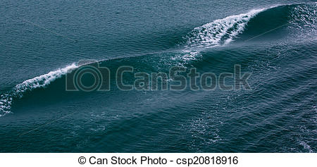 Stock Photography of Bow wave.