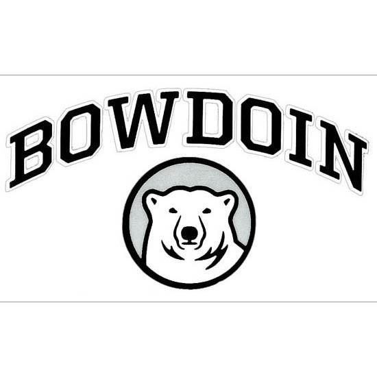 Bowdoin Cutting Edge Vinyl Transfer Decal.