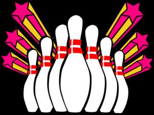 Bowling clipart image clip art 4 bowling pins.