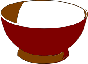 Clip Art Empty Food Bowl Clipart.