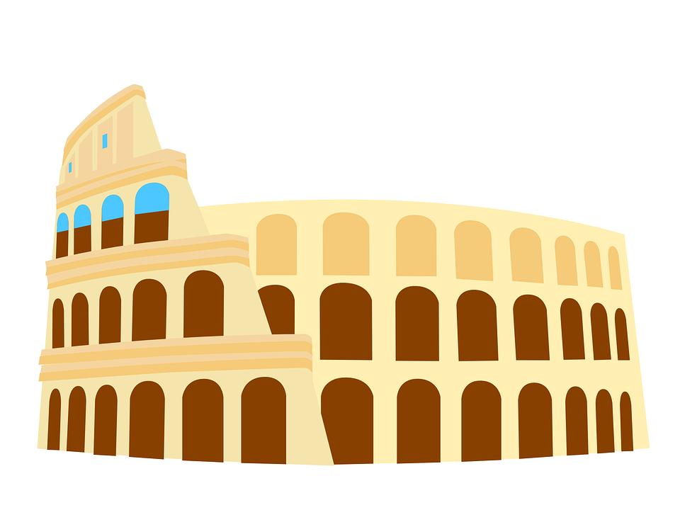 Free vector graphic: Colosseum, Italy, Rome, Historic.