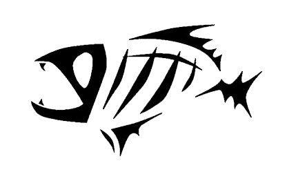 Fish Skeleton Logo.