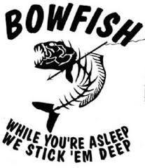 Bowfishing Yeti Decal Bowfishing Car Decal Bow Fishing.