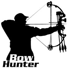 Free Bow Hunter Silhouette, Download Free Clip Art, Free.