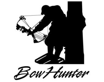 Bow Hunting Clipart.