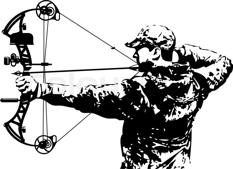 Bowhunter clipart 7 » Clipart Station.