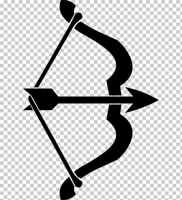 Archery Bow and arrow Bowhunting , Archery s, silhouette of.