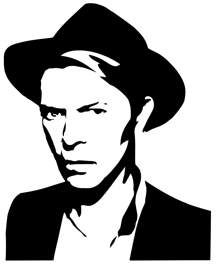Clipart Of David Bowie Clipground