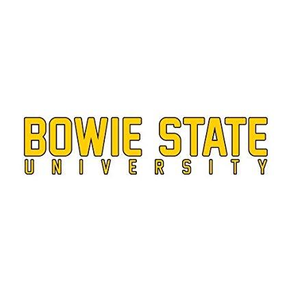 Amazon.com : CollegeFanGear Bowie State Medium Decal \'Bowie.